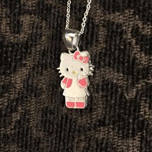 Sanrio Hello Kitty Necklace- Sterling Silver